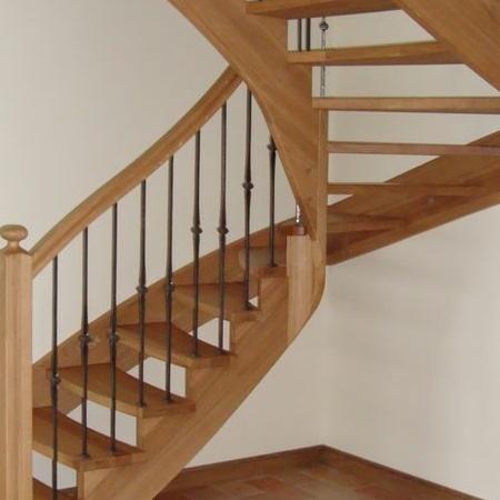 schody drewniane 118