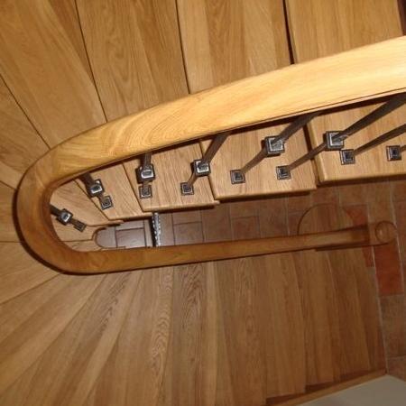schody drewniane 119