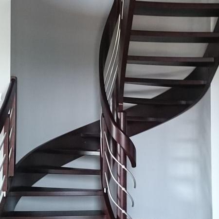 schody drewniane 125