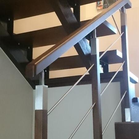schody drewniane 147