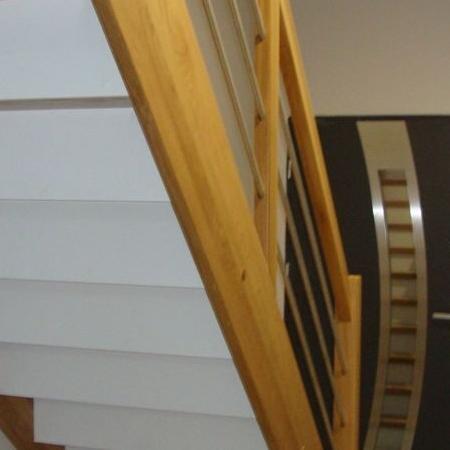 schody drewniane 157